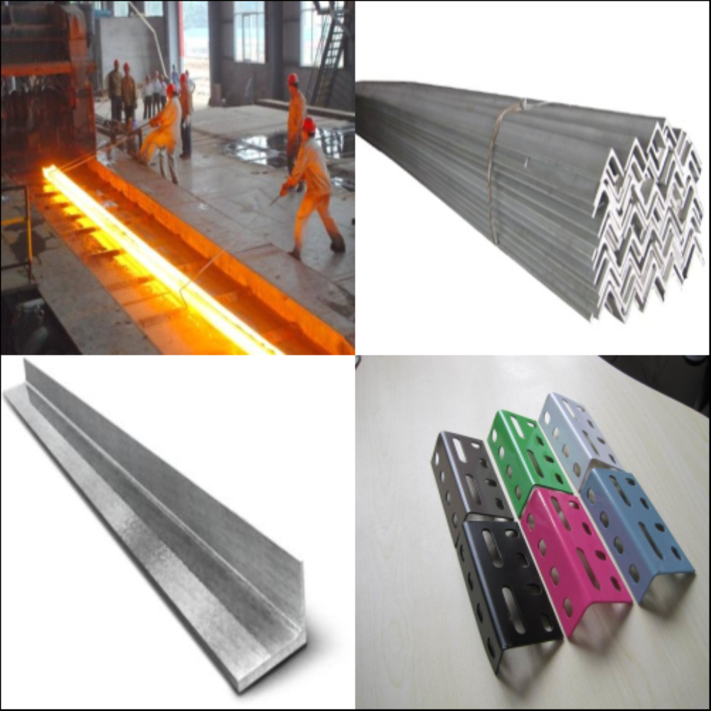 High Quality Galvanized Steel Angle Bar SS400 90*8 Hot Rolled mild steel equal unequal angle Tianjin