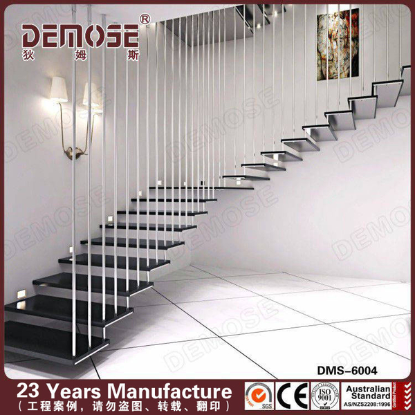 Wood Glass Stairs Grill Design For Apartment Staircase Buy