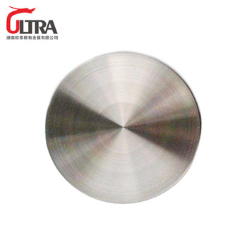high purity Nickel Chromium Sputtering Target for thin film industry