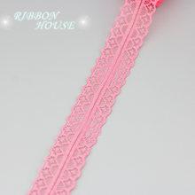 (10 ярдов/рулон) 30 мм кружевная ткань тонкая лента для украшения подарка любви упаковочный материал(Китай)