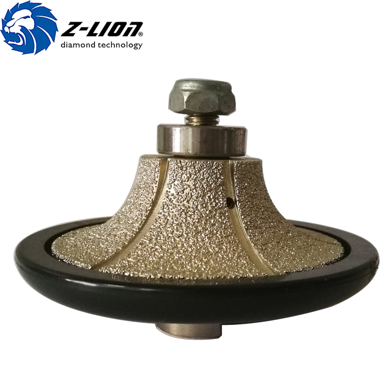 Hot sale vacuum brazed diamond profile wheel for granite marble profiling