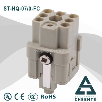 Hq Series Electrical Terminal Block Two Ways Plastic Types Of Cable ...