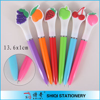 Advertising plastic children gift fruit scented pen
