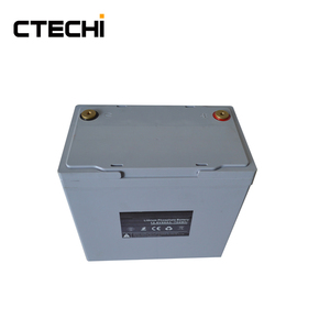 CTECHi rechargeable lithium 12.8v 55Ah LiFePO4 battery pack (Lead-acid battery replacement)