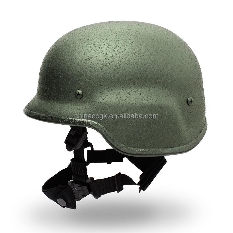 Steel Ballistic Helmet Nij Iiia 44 Pasgt Bullet Proof