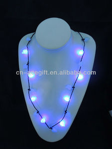 light up heart necklace