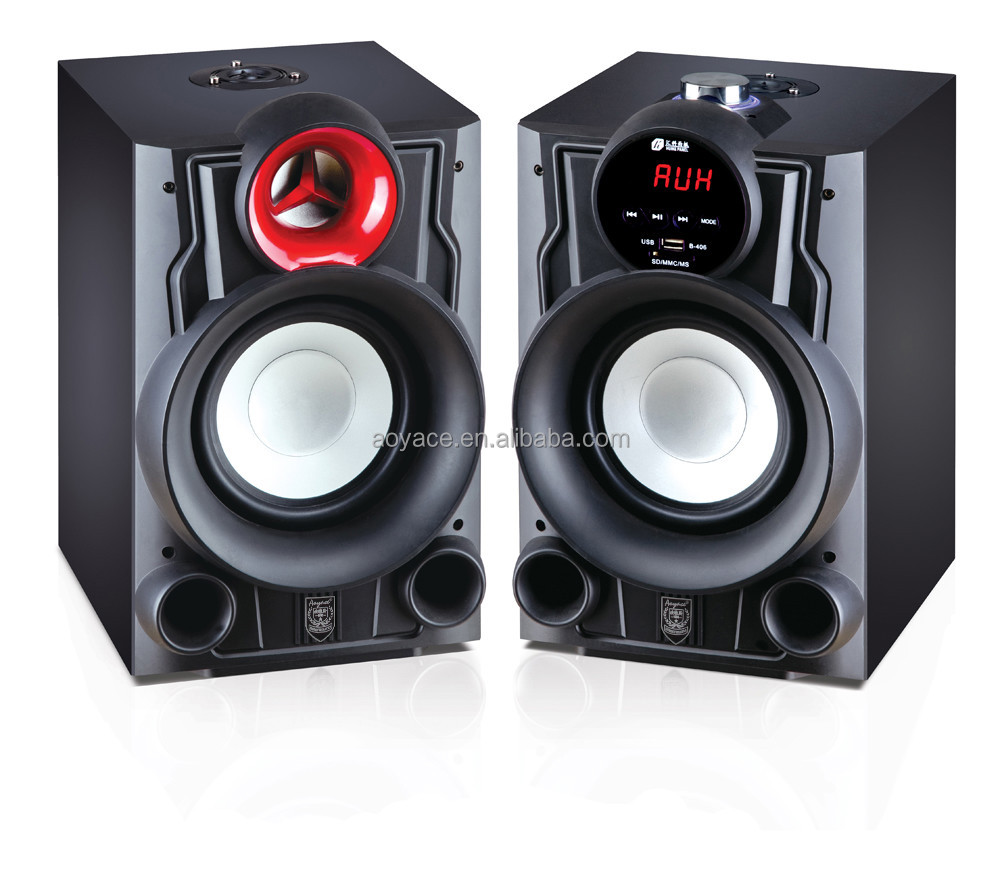High quality With MP3 support 2.0 speaker box