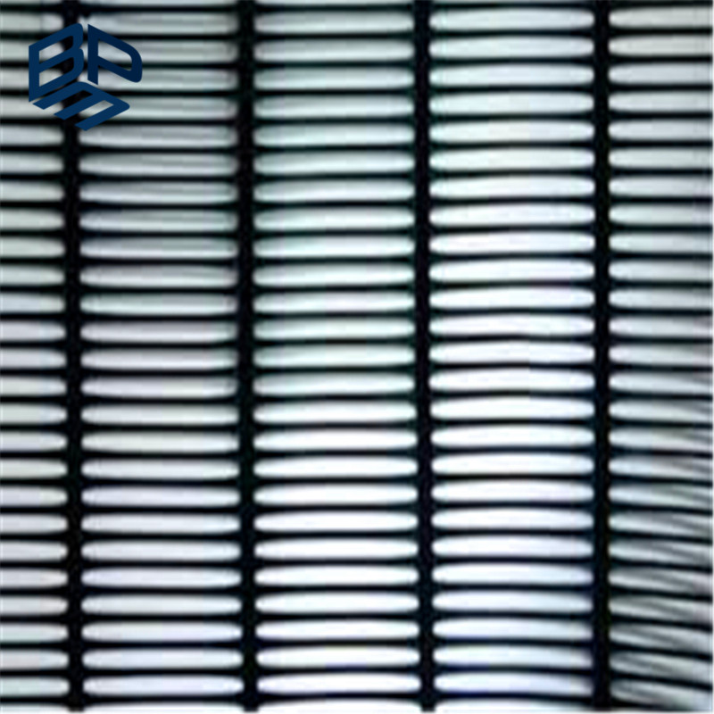 Soil Reinforcement Polyester Uniaxial Geogrid for Retaining Wall