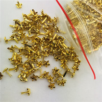 Wholesale Metal Brads Star Shaped Gold Brads for Scrapbook