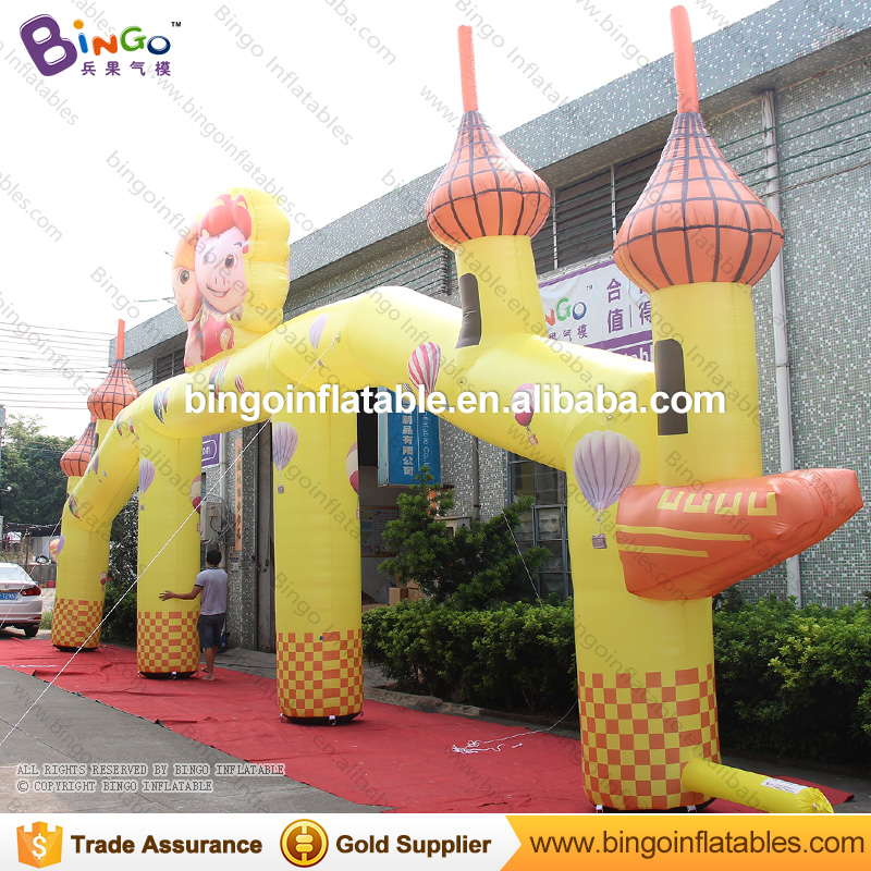 2017 newly designed Guangzhou inflatable GGbond wedding arch
