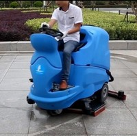 Driving type washing machine, automatic floor scrubber, industrial zone cleaning requirements
