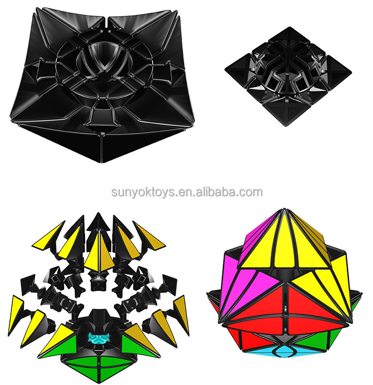 Moyu Evil Eye I - Close Eye Rhombic Dodecahedron Magic Cube Rubick ...