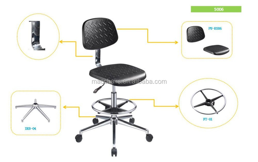 Manufacturer For Anti Static Adjustable Laboratory Chair