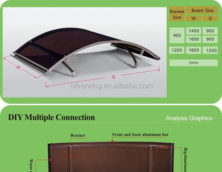 Magnificent Euro Design Aluminum Polycarbonate Arched Door Canopies Door Handles Collection Dhjemzonderlifede