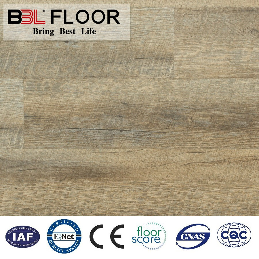 Vinyl Planks - 12mm Click Lock Exclusive Woods Collection White Oak Flooring Vinyl Click Floor