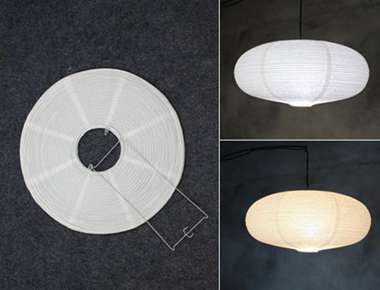 Lampadario Carta Di Riso : Nuovo disegno ferro supporto di carta di riso coperta sala da pranzo