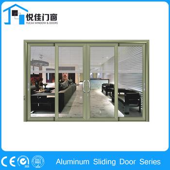 Super manufacture hidden sliding sliding door screen door for Hidden sliding screen door