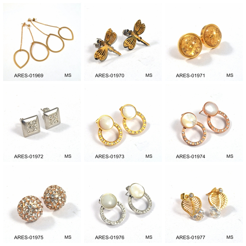 Stud Earrings In Bulk Beautiful Stud Earring Gold Ear Tops Designs ...
