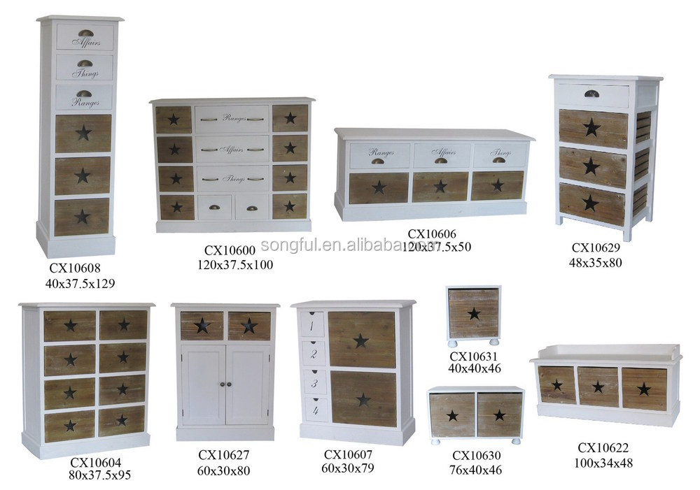 Shabby Chic Home Decor Wholesale Italian Style Antique Bedroom Set