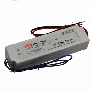 MEAN WELL 100W Single Output LPV-100-36 IP67 36V 2.8A Power Supply LED