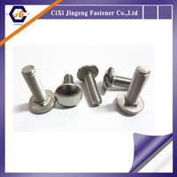 304 316 stainless steel din 603 carriage bolts