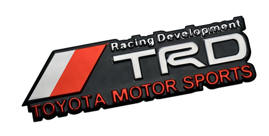 Toyota motorsports logo Red Iron Sew on Embroidered Patch UK Seller
