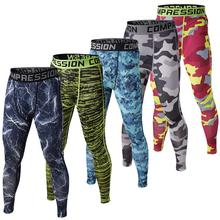 men compression tights base layer skin pants cycling running Fitness Excercise soccer football pants underpants