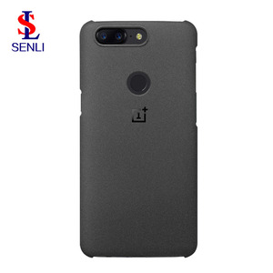 Original Oneplus 5T TPU Back Case Sandstone Protective Cover For Oneplus 5T Smart Phone High Quality Phone Case
