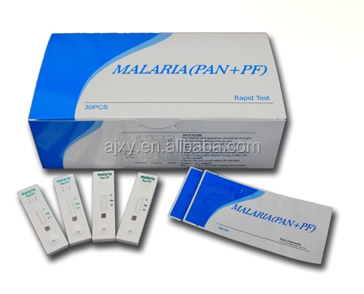 Malaria rapid test kit Malaria PAN test kit( whole blood test) with high accuracy with CE
