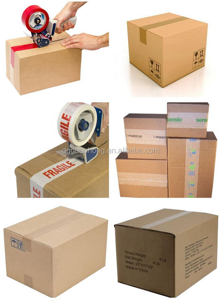 Low Noise/No Noise Adhesive Tape for Carton Sealing