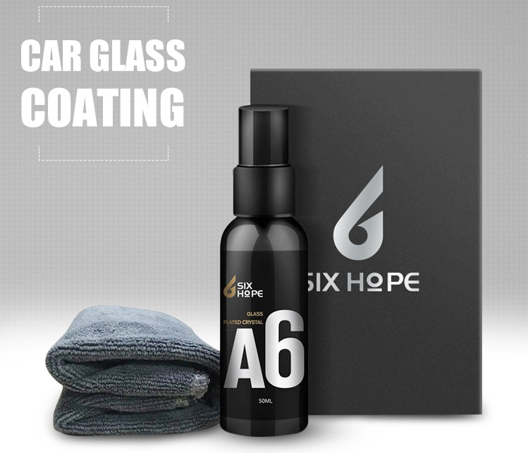 Spray Nano Coating for Car Interior Windshield Front Window Glass Mirrors