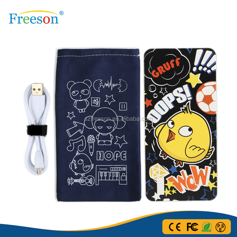 Freeson Original Design 5000mah Power Bank For Phones