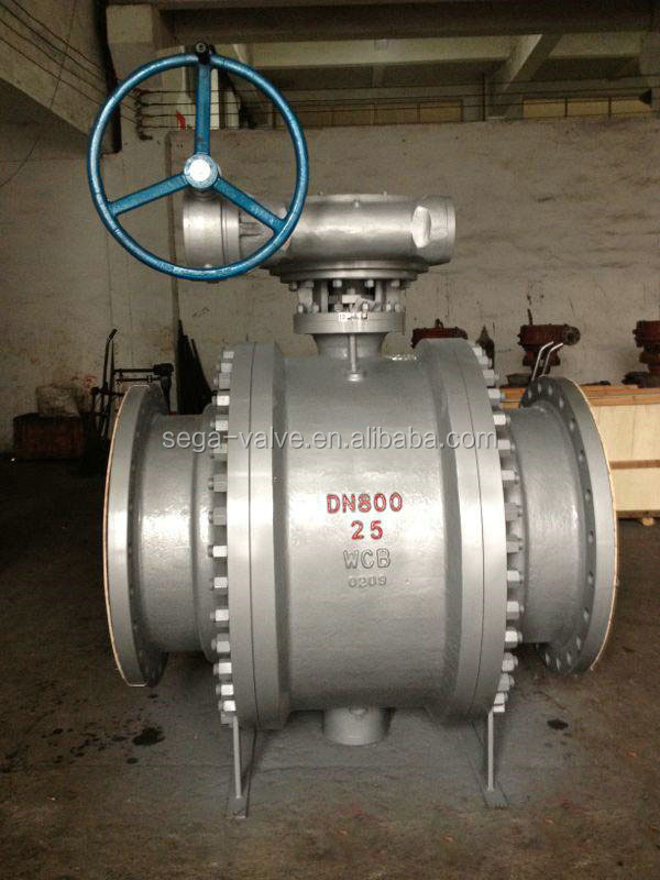 3PC DESIGN FORGED TRUNNION MOUNTED BALL VALVE