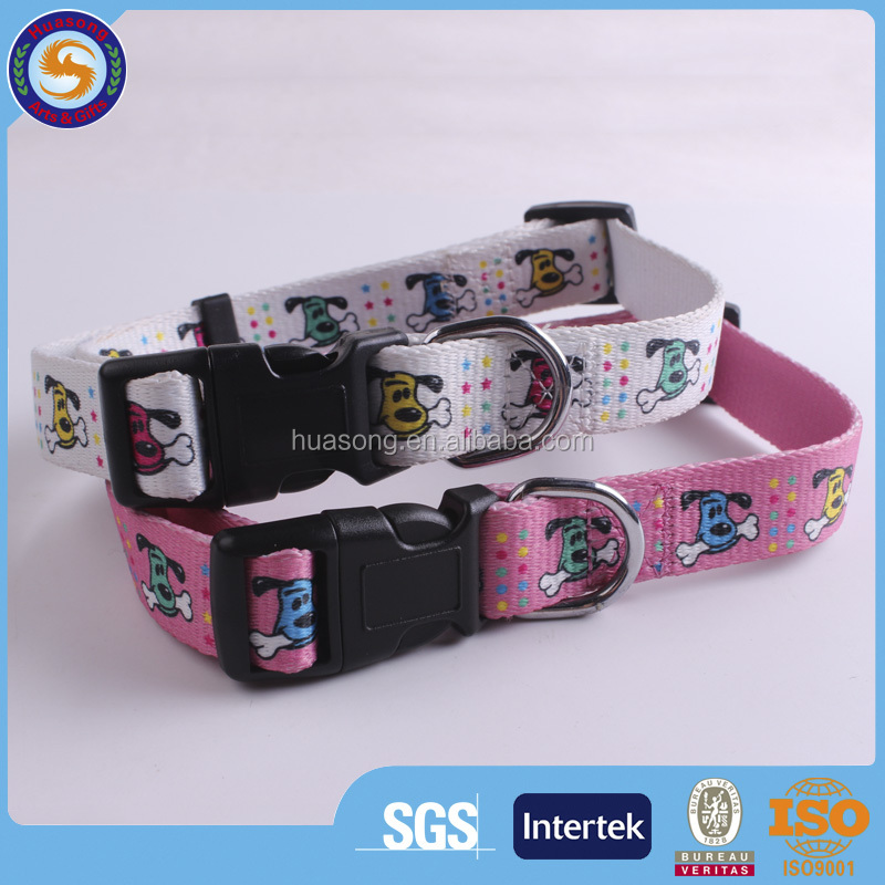 Sublimation Dog Collar, Fashion Sublimation Dog Collor with Custom Design