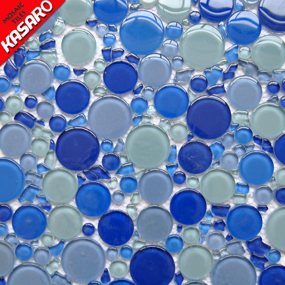 colored glass bubble glass mosaic sheets commercial building and