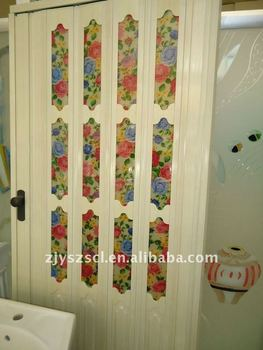 Accordion Bathroom Doors pvc folding door,pvc accordion doors - buy waterproof pvc folding
