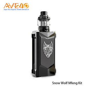 100% Authentic SnowWolf Mfeng 200W Kit Cool Vape eCigs