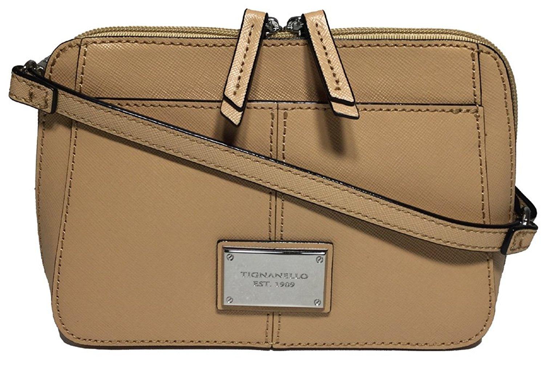 0e75d8530 Get Quotations · Tignanello Bella Belt Bag W/RFID Protection, Dune, A278093