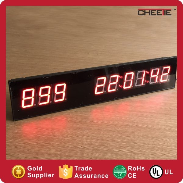 Electronic 3 Digits 8 Inch Large Digital Countdown Led