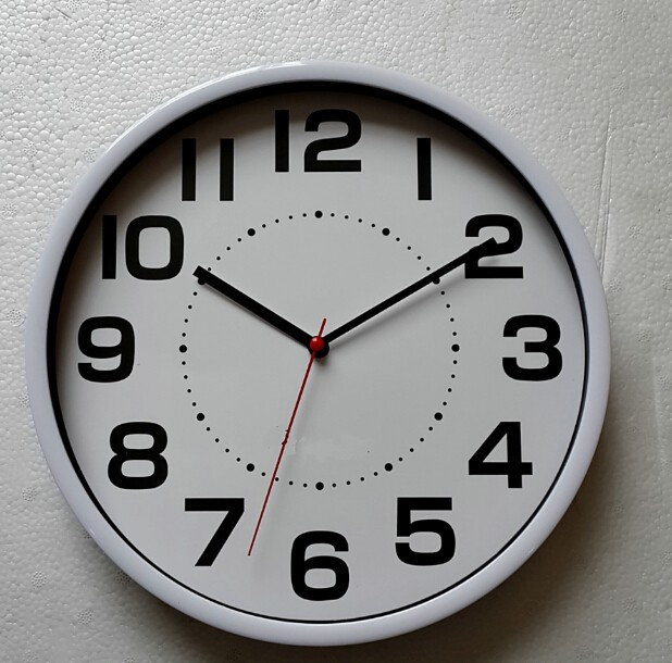 Home Goods Clocks: 10 Inch Home Office Cheap Gift Promotional Wall Clock