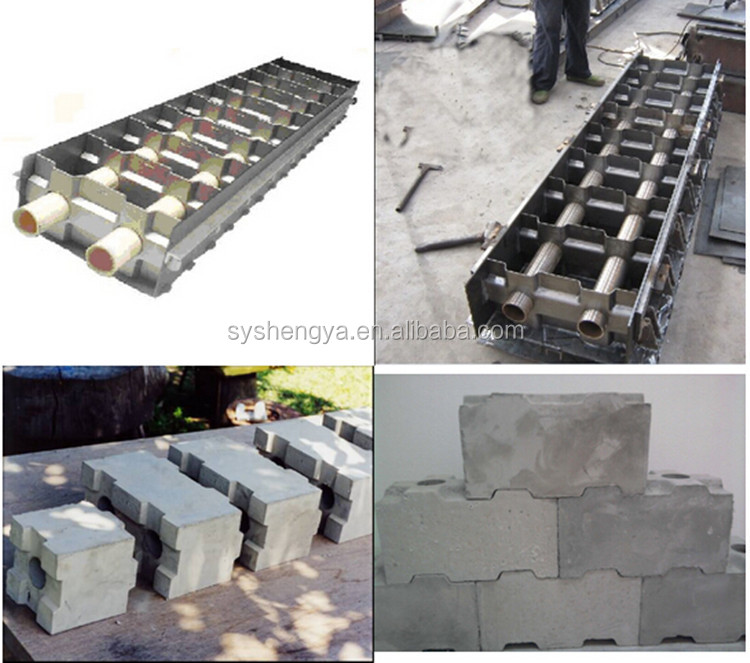 Iso Certificate Cheapest Interlocking Concrete Hollow