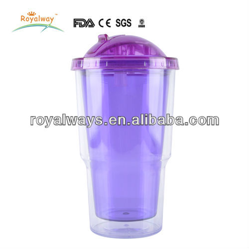 16oz plastic cup Slide Top Open/Close Drink Through Lid