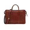 Guangzhou factory OEM genuine leather business laptop bag