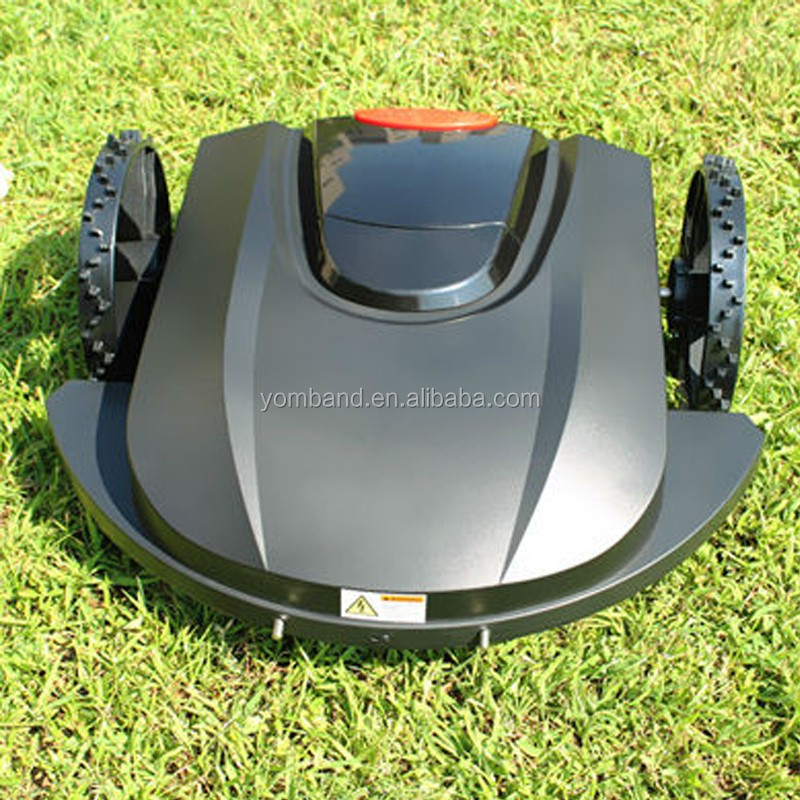 2018 Popular Zero Turn Cordless Remote Controlled Electric Home Depot Lawn mower Robot