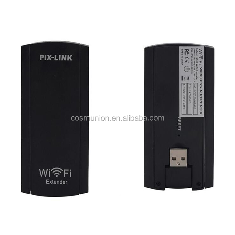 exteral dual antennas 300Mbps wifi signal repeater and booster with USB Port