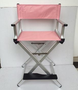 2016 New Color Rosegold Aluminum Finish Cheap Folding Makeup Chair Director  Chair Beach Chair