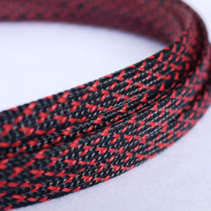 PET mesh cable protection line wire harness braided sleeve
