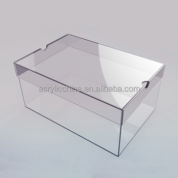 clear plastic boxes clear acrylic shoe boxes buy clear acrylic 29446