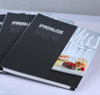 CMYK professional direct hardcover recipe book printing