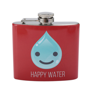 Custom Sublimation Portable 5oz /6oz / 7oz Stainless Steel Wine Hip Flask